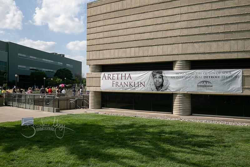 Aretha Franklin Memorial | 2018.08.28