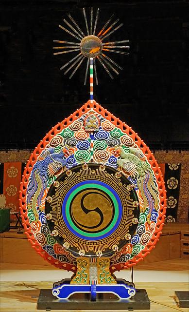 Le grand tambour Dadaiko du Gagaku impérial (Philharmonie de Paris)