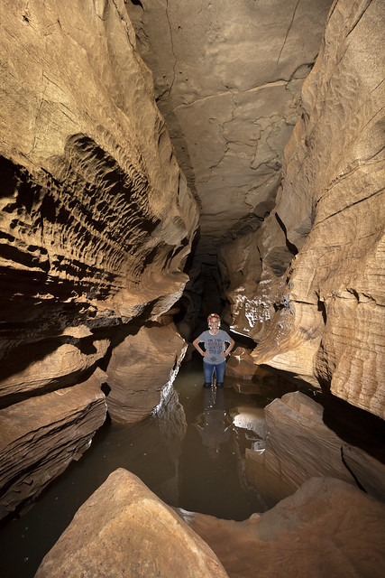 Wendy Copeland, West Water Supply Cave, Overton County, Tennessee