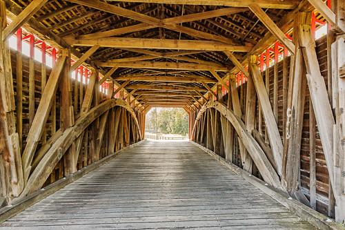 interiorview nikond7200 frederickcounty maryland backroadphotography bridge coveredbridges countryroads historic nationalregisterofhistoricplaces uticacoveredbridge
