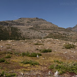 Red Crow Mountain from Firebrand Pass