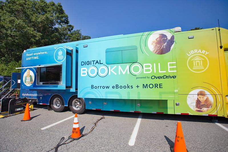 Overdrive Digital Bookmobile