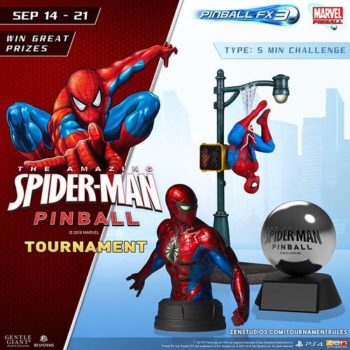 Spider-Man Pinball FX3 Tournament | by PlayStation.Blog