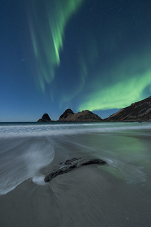 """A night at the beach"" 