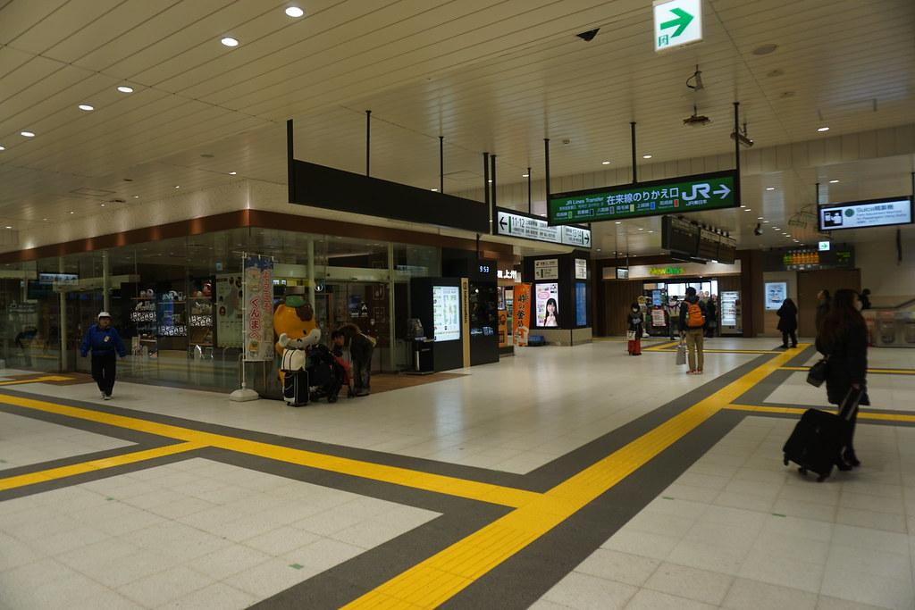 新幹線コンコース