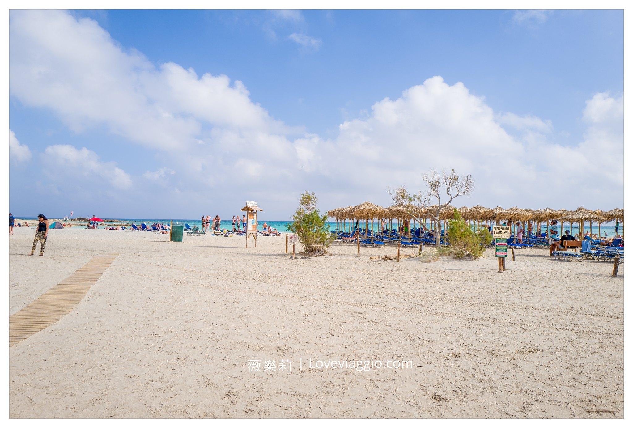 【希臘克里特島Crete】粉紅沙灘Elafonissi 粉紅又蔚藍的夢幻地中海 @薇樂莉 Love Viaggio | 旅行.生活.攝影