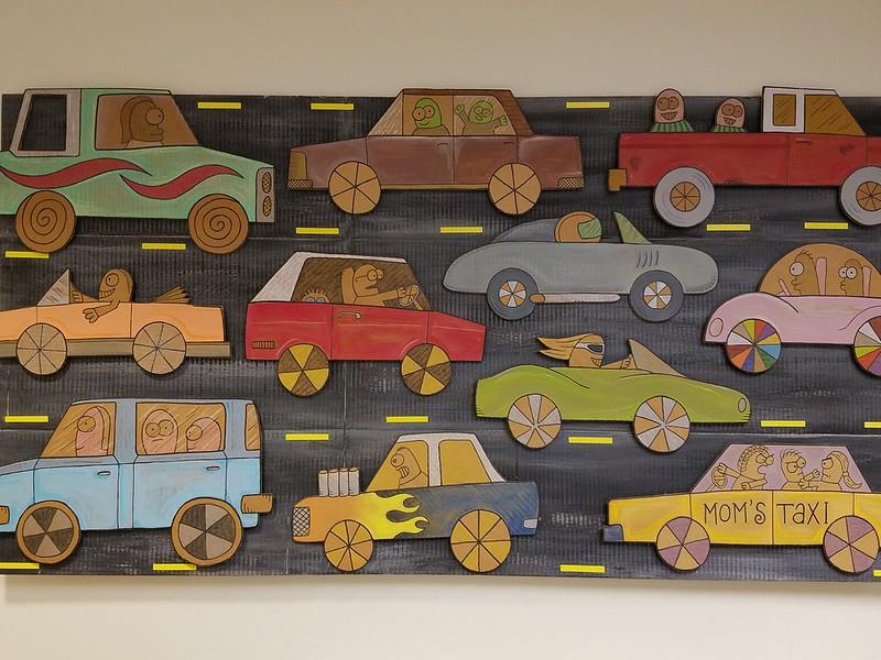 Cars, by David Kish, 2014