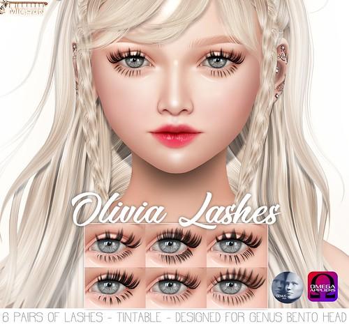 Olivia Lashes [Genus & Omega]