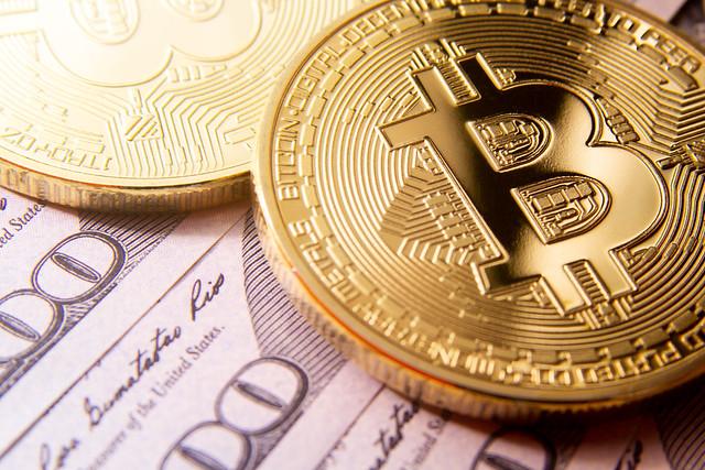 Two Bitcoins cash money