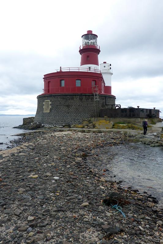 Longstone Island at high tide