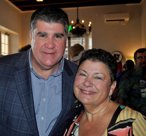 Beth Arroyo Utterback and Dickie Brennan