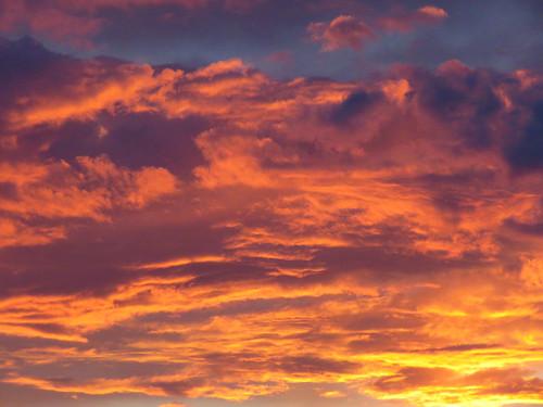 clouds sky sunset montrosecolorado colorado
