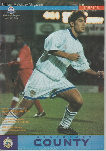 Stockport V Carlisle 25-12-96 | by cumbriangroundhopper