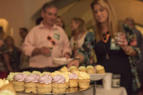 Desserts by Dickie Brennan Restaurants at the WWOZ Groove Gala on September 6, 2018. Photo by Ryan Hodgson-Rigsbee www.rhrPhoto.com