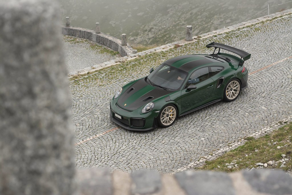 British Racing Green Porsche 911 Gt2 Rs In British Racing J B Photography Flickr