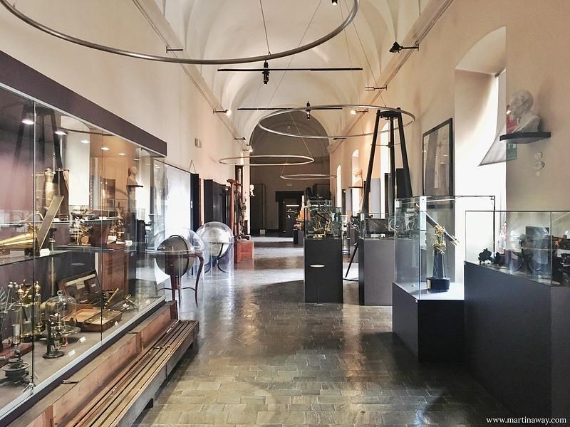 Galleria del Museo Astronomico di Brera