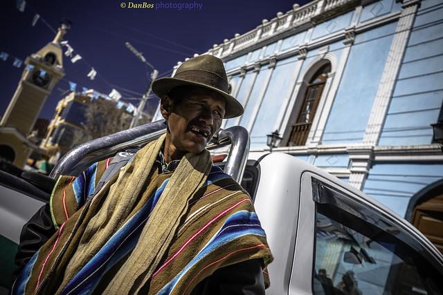 Bolivia - Men in the village