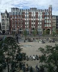 Zicht op Beursplein vanuit Euronext-gebouw #openmonumentendag