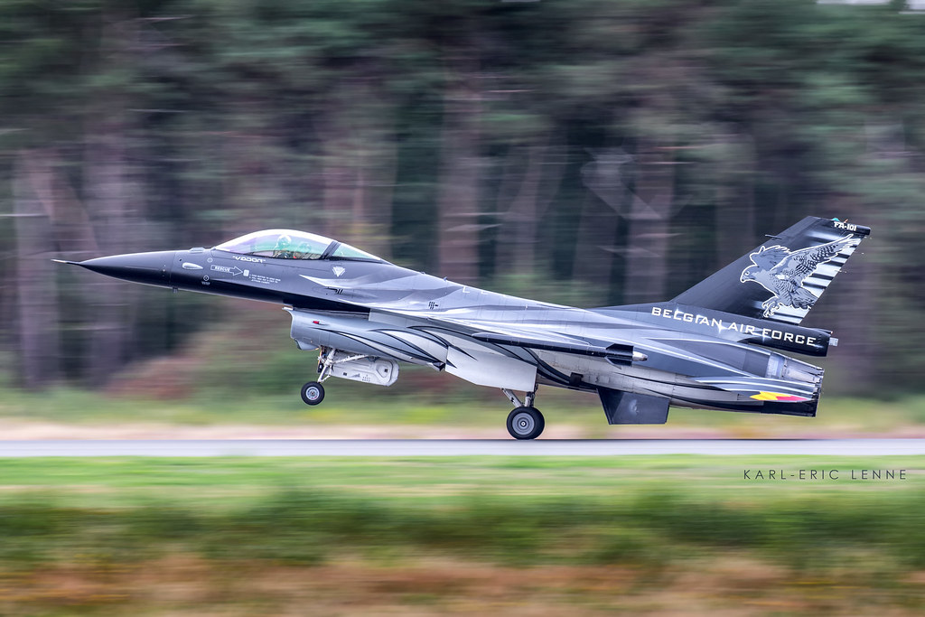 Another wonderful experience to go at th Belgian Air Force