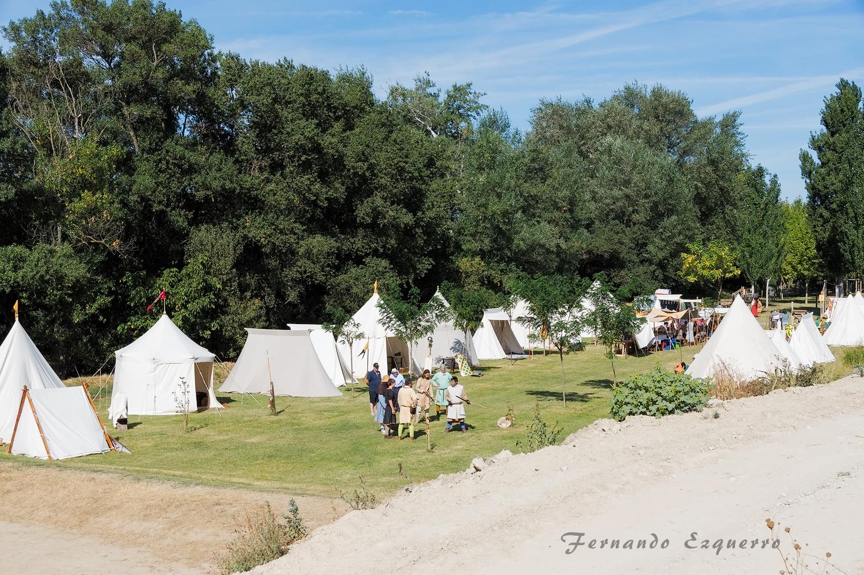 La vida en el campamento