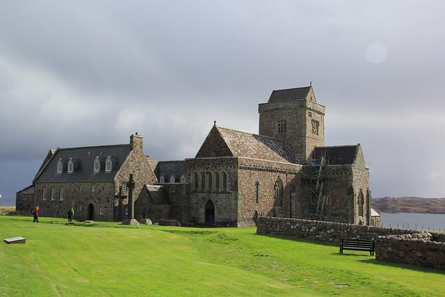 The Abbey, Iona, Scotland.