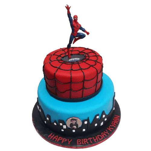 Astounding Spiderman Cake Design For Birthday A Photo On Flickriver Funny Birthday Cards Online Elaedamsfinfo