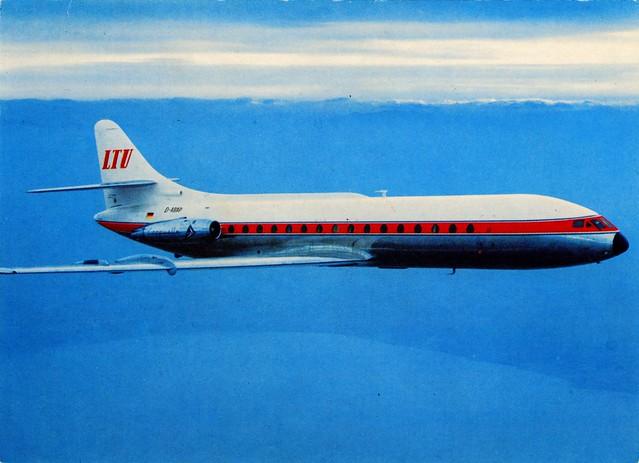 Germany - Sud Aviation Caravelle [03] - LTU [D-ABAP] - front