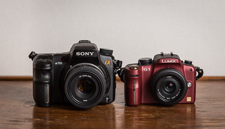 Duel // Sony a700 (2007) / Lumix G1 (2008) | by maoby