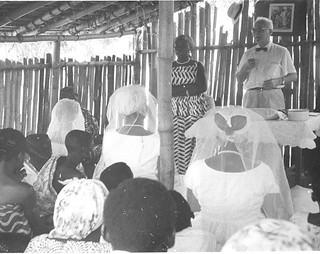 Baptismal service at Abehenasi Ghana