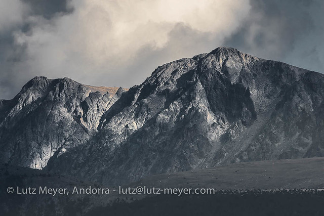 Andorra mountain landscape: Altitude 2000+ collection. View from La Massana, Vall nord, Andorra