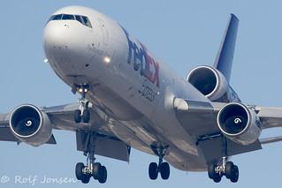 N617FE McDonnell Douglas MD-11 Fedex Los Angeles airport KLAX 14.09-18 | by rjonsen