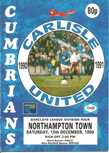 Carlisle United V Northampton 15-12-90 | by cumbriangroundhopper