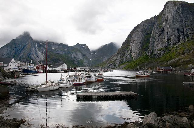 Hammoy. Lofoten Islands. Norway.