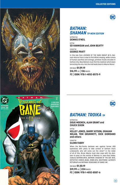 DC Comics December 2018 Solicitations