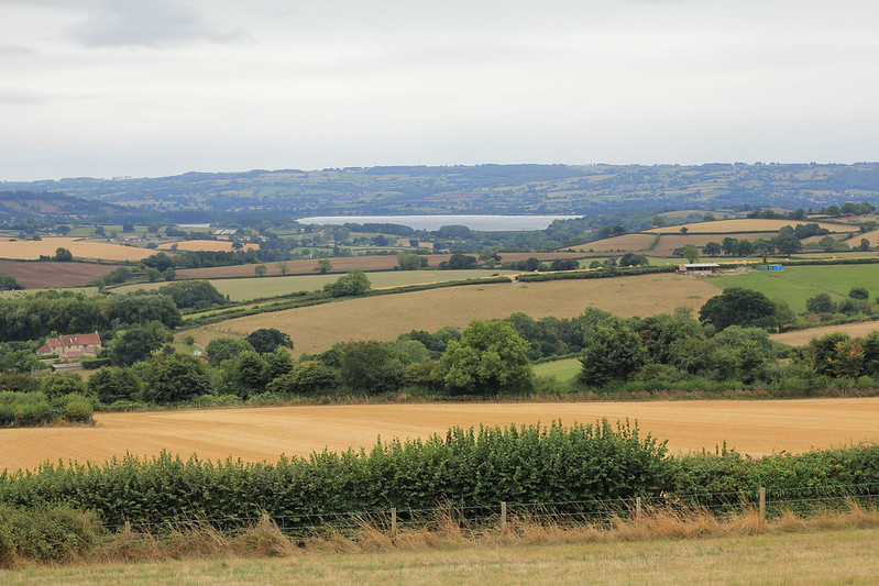Chew Valley Lake from the Dundry ridge