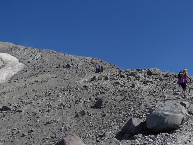 Mount St Helens - Summit Trail Monitor Ridge Pumice