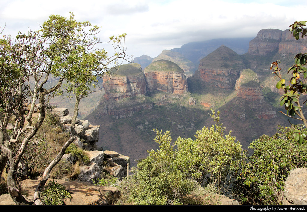 Three Rondavels Lookout, Blyde River Canyon, South Africa