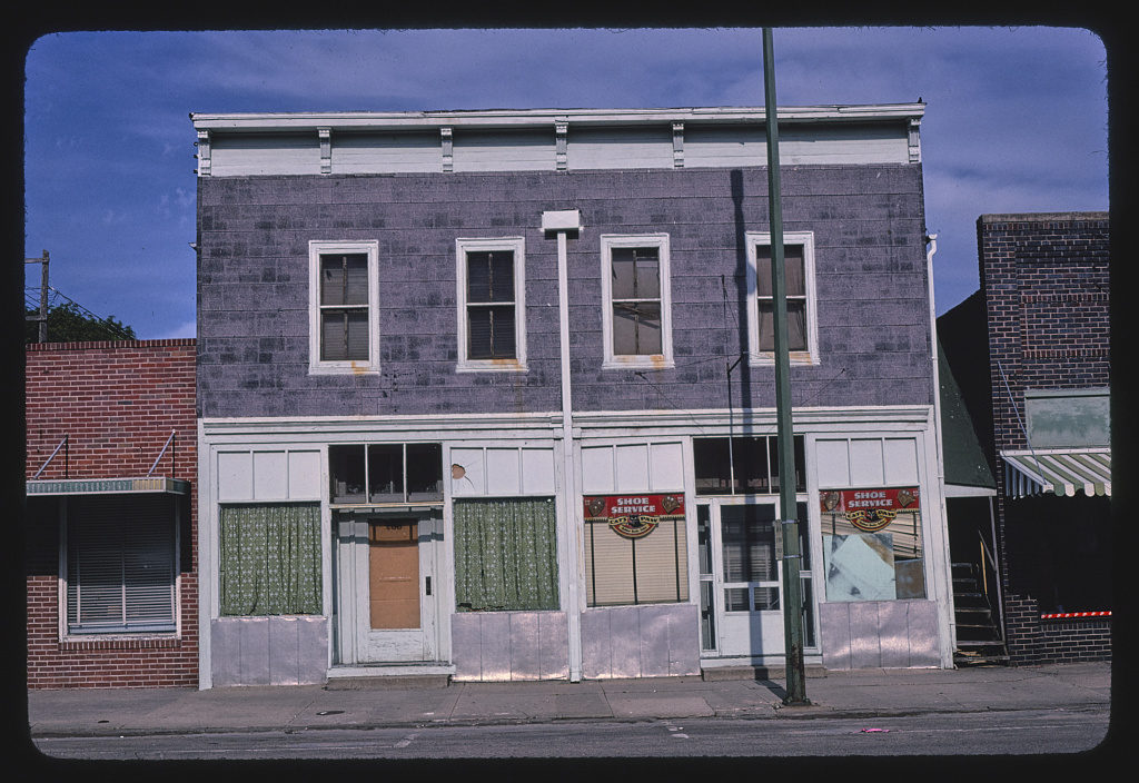 Shoe Service Building, 5th Street, Beatrice, Nebraska (LOC)