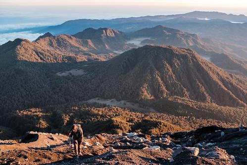 gunungsemeru indonesia java mountsemeru mountain semeru climb forrest hiker hiking landscape sunrise travel volcano