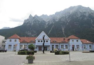 Bahnhof Mittenwald   by Grüner Nomade
