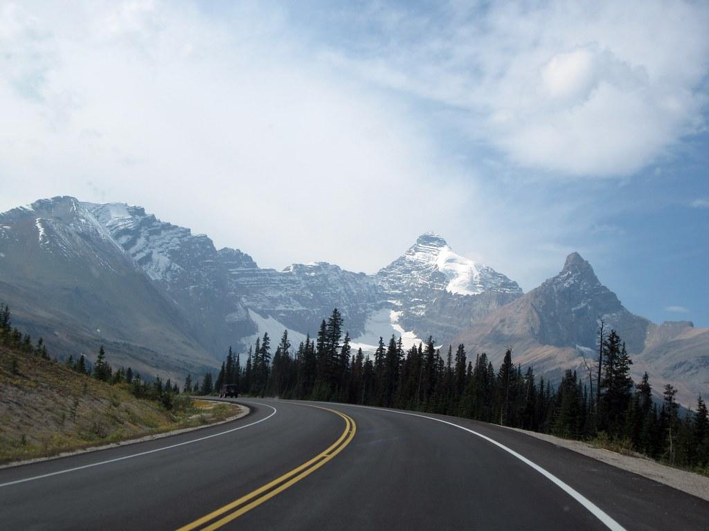 Roadway Icefields Parkway Alberta Canada | amanderson2 ...