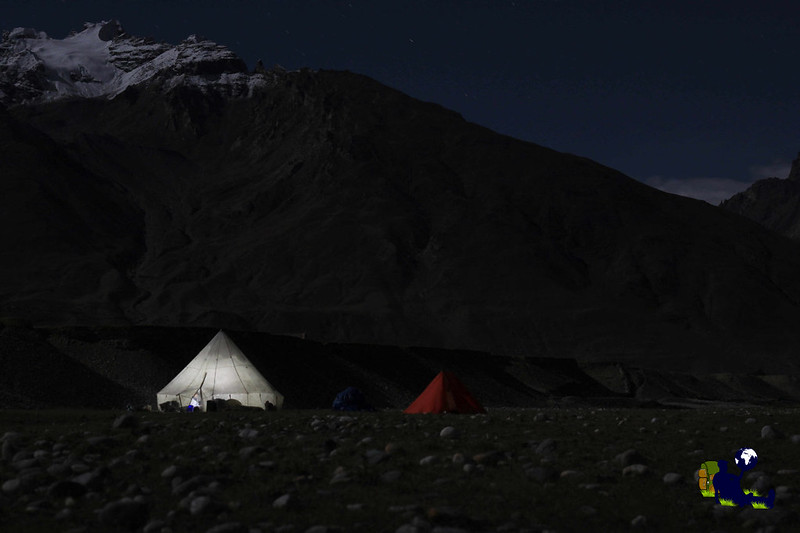 Camper au Mont Blanc