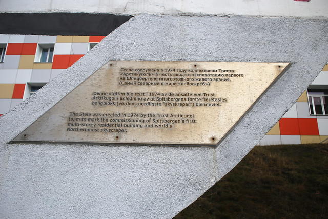 "Barentsburg ""skyscraper"""