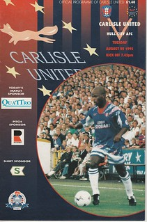 6.Carlisle V Hull 22-8-96 | by cumbriangroundhopper