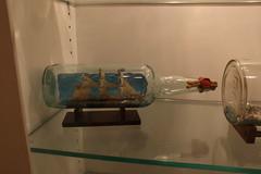Ship in a Bottle Exhibit - 'Bounty'