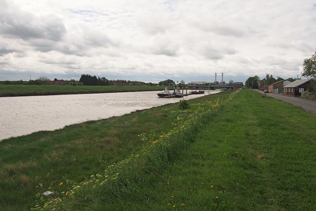 The River Nene near Sutton Bridge