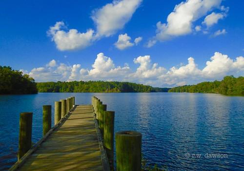 jamescitycounty virginia va usa waterway landscape lake resevoir diascundresevoir clouds