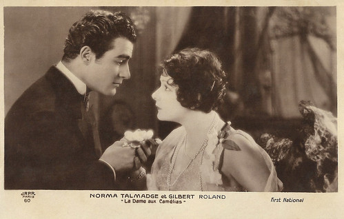 Gilbert Roland and Norma Talmadge in Camille (1926)