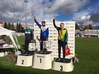 Timo, sprintin SM-pronssia H75-sarjassa | by suomusjarvensisu