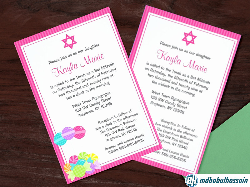 Birthday Party Invitation Card This Template Can Be Used A